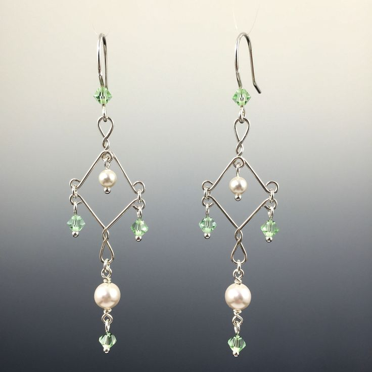 435 best Chandelier earrings images on Pinterest | Wire, Jewel and ...