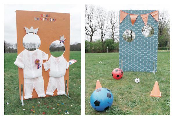 Het is bijna Koningsdag! De dag dat heel Nederland oranje kleurt en de kleintjes zich voor een dag mogenontpoppen tot ware kooplieden en spelletjeskoningen en -koninginnen. Om de kids ook dit jaar weer een handje te helpen bij het succes van deze feestdag bedachten we dit leuke DIY voetbal/fotoboard waarmee …