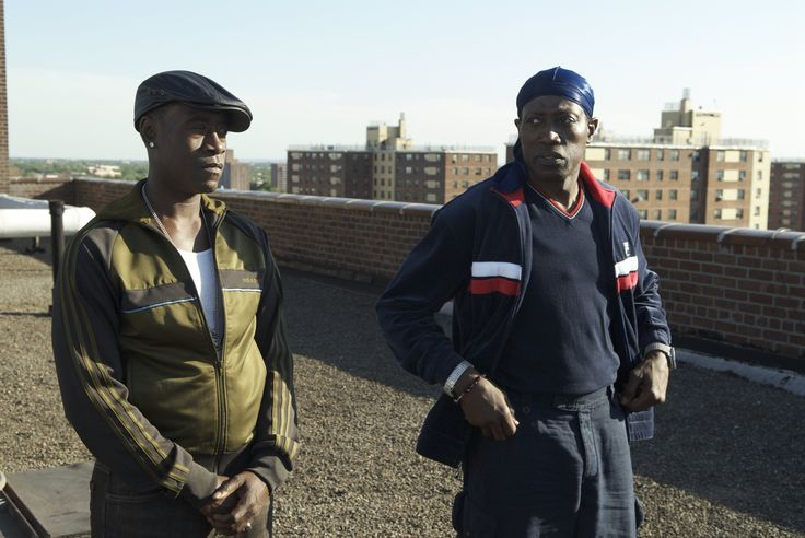 """""""Brooklyn's Finest"""" movie still, 2010.  L to R: Don Cheadle, Wesley Snipes."""