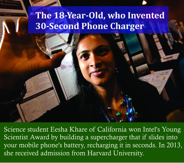 The Indian Girl who invented a mobile charger that will literally change the way we charge our phones