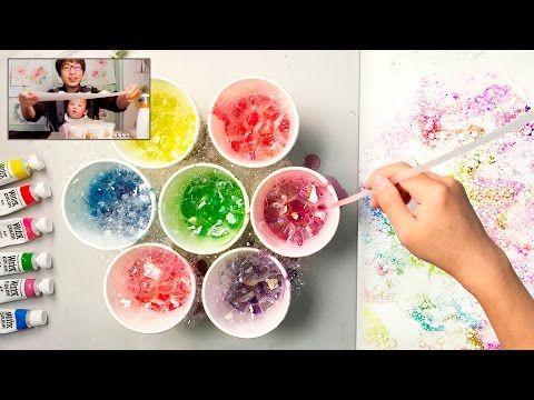 [LVL1] Easy Watercolor Technique for Beginners | Basic Spray Painting Art - YouTube