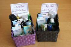 DIY Hochzeits - Tipp: Notfallkörbchen für das WC!