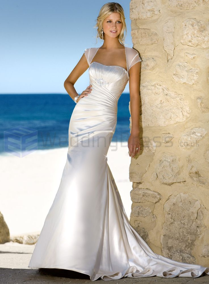 10 best wedding dress ideas for me images on pinterest for Hawaiian wedding dresses with sleeves