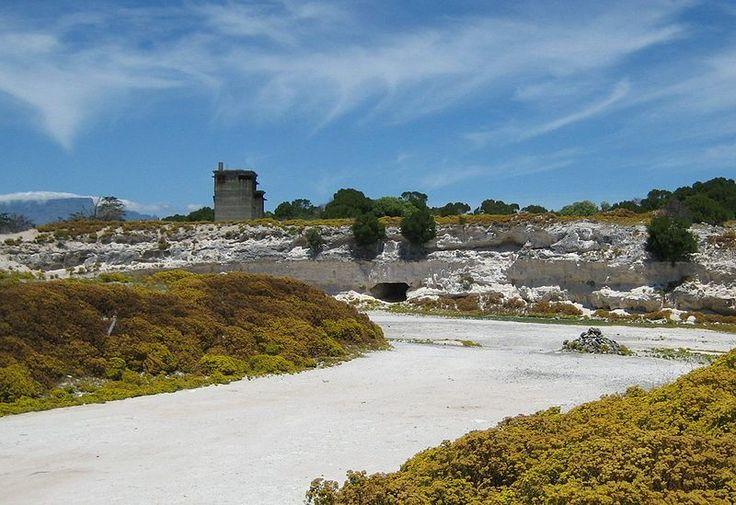 Robben Island Limestone Quarry
