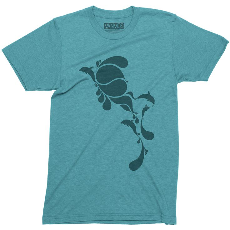 BLUE DROPS. Short sleeve men (unisex) t-shirt. A triblend ultra soft fabric that makes you feel comfortable. 50/25/25 polyester/combed ring-spun cotton/rayon. Unisex sizing, normal fit. Featured Color Tri-blend Teal blue. Eco-friendly water-based inks