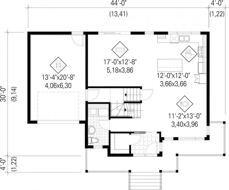 23 best Maison Plans images on Pinterest House blueprints - Logiciel Pour Dessiner Plan Maison Gratuit