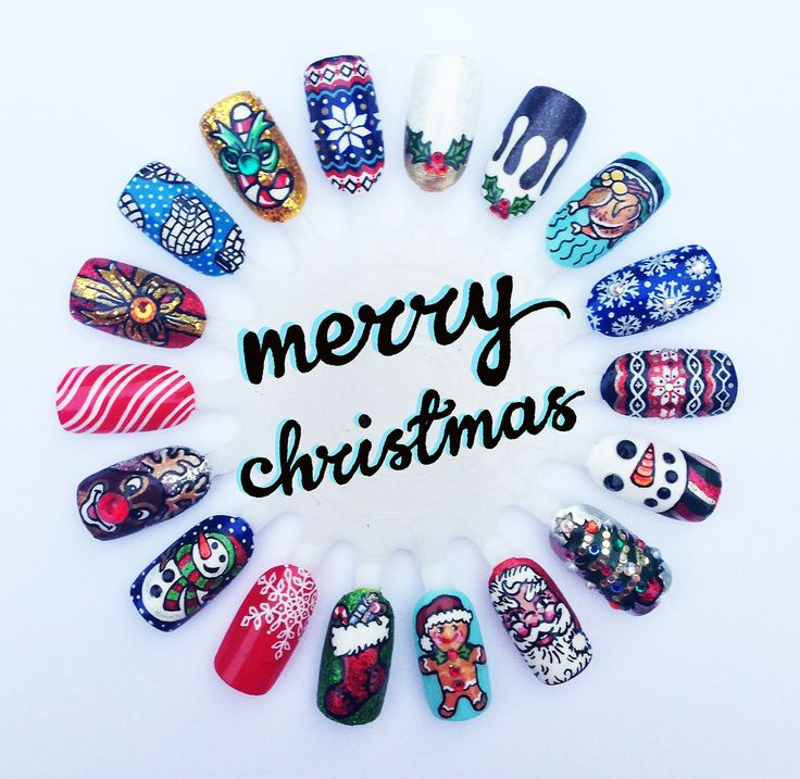 2255 best nails images on pinterest beautiful braids and enamels christmas nail art prinsesfo Gallery