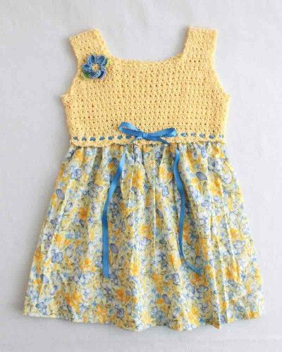 Cross Stitch Sundress Crochet Pattern