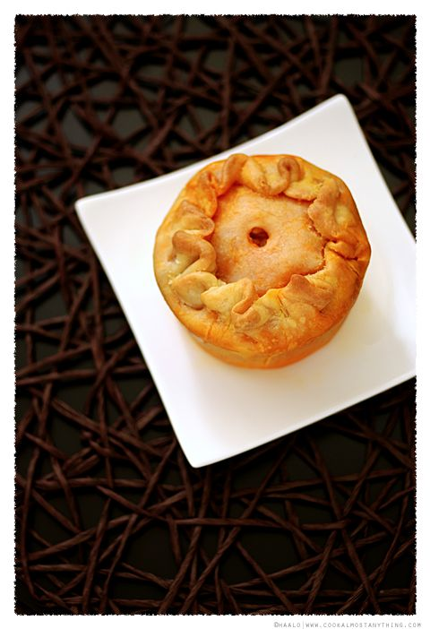 Chicken Curry Pies© by Haalo