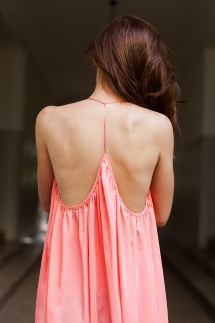 BACKLESS CORD DRESS | Exceptional colour for summer parties & beach days <3 get it @ theodderside.com