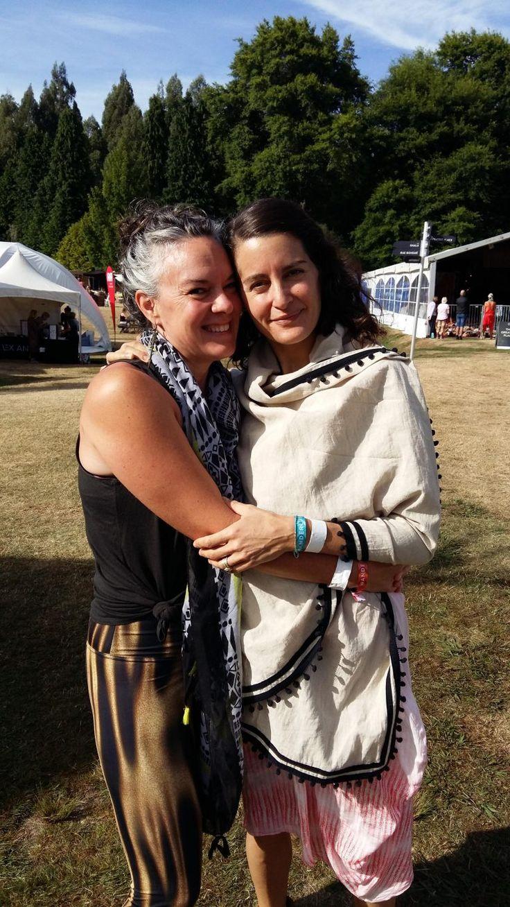 Elena Brower, Yoga Teacher and Author Wanderlust Festival 2017 Courage My Love
