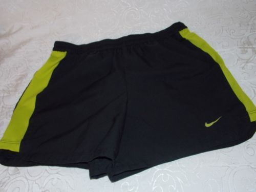 Nike Shorts Women's Nylon Sexy Sports Short Size M (8-10) in Black and Green