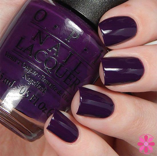 Top 25 Ideas About Purple Nail Polish On Pinterest
