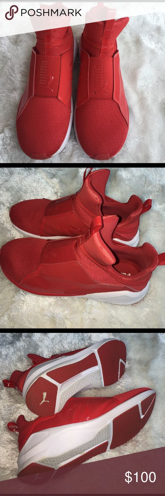 Puma sneaker Red puma not sure if Rihanna or Kylie Puma Shoes Sneakers