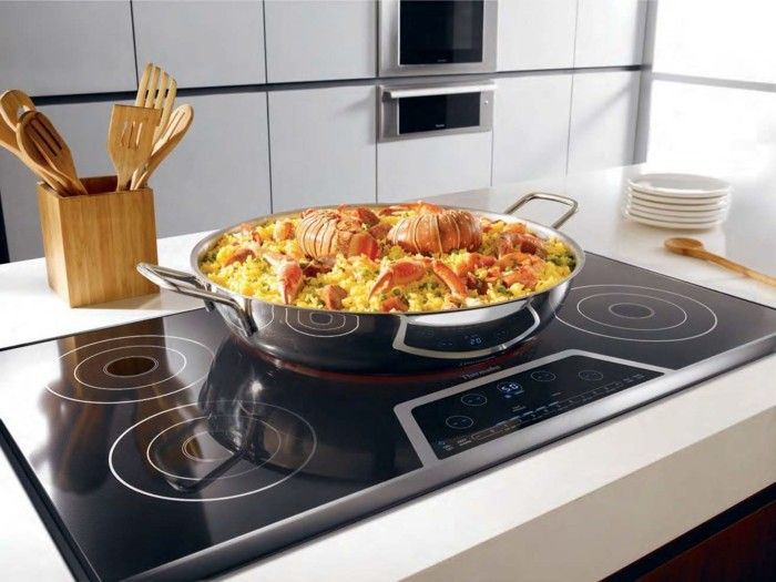 faster cooking process with induction cookers