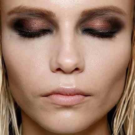 Autumn inspired eye makeup