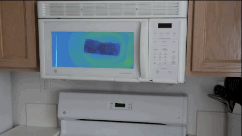 New Infrared Technology Will Change Microwaves Forever  #cooking #heatmap #infrared #kitchengadgets #microwaves