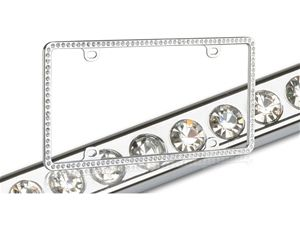 Sassy Auto Frames Bling custom hand made diamond crystals Rhinestone and Swarovski Crystal License Plate Frames/holders/covers for car, truck, or motorcycle!