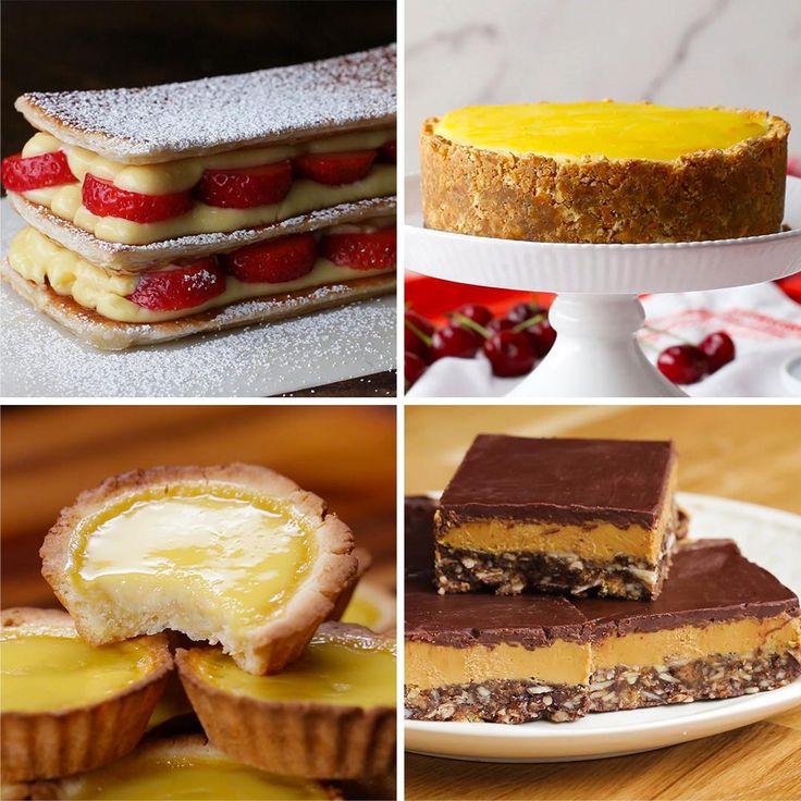 5 Creamy Custard-Filled Desserts by Tasty