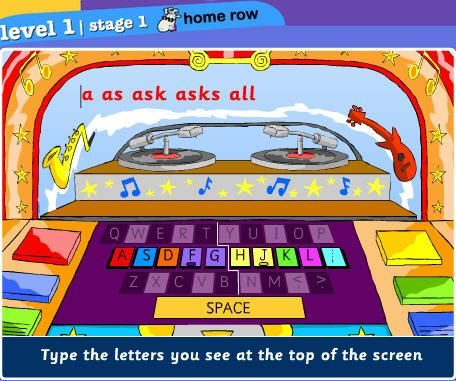 Keyboarding Sites for Kids. @Pediatric Therapy Center-for all of our pins, please visit our page at pinterest.com/pedthercenter/