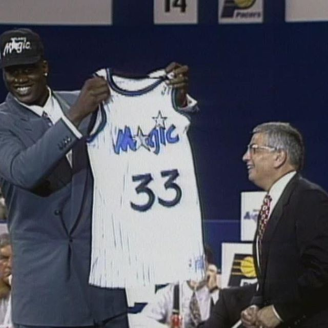 Portland bacame the first city outside New York to host the NBA Draft. The 1992 NBA Draft. Was held at Portland's Memorial Coliseum, and the Orlando Magic tabbed 7-1 center Shaquille O'Neal of LSU with the first overall pick.  #portland #trailblazers #portlandtrailblazers #orlando #magic #orlandomagic #shaq #shaquille #oneal #shaquilleoneal #center #lsu #firstpick #basketball #nba #draft #nbadraft #draftday #legend #champion #history #retro #vintage #picoftheday #pictureoftheday #like4like…