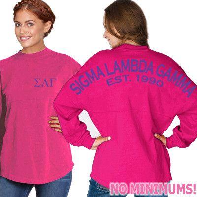 Sigma Lambda Gamma Game Day Jersey - J. America 8229 - CAD