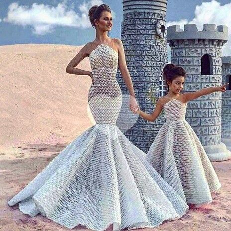 """""""Mommy and I in front of the castle."""""""