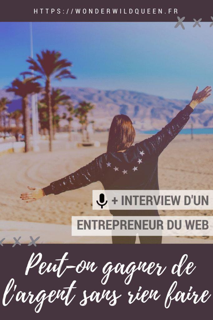 Peut-on VRAIMENT gagner de l'argent sans rien faire ? #argent #business #entrepreneur