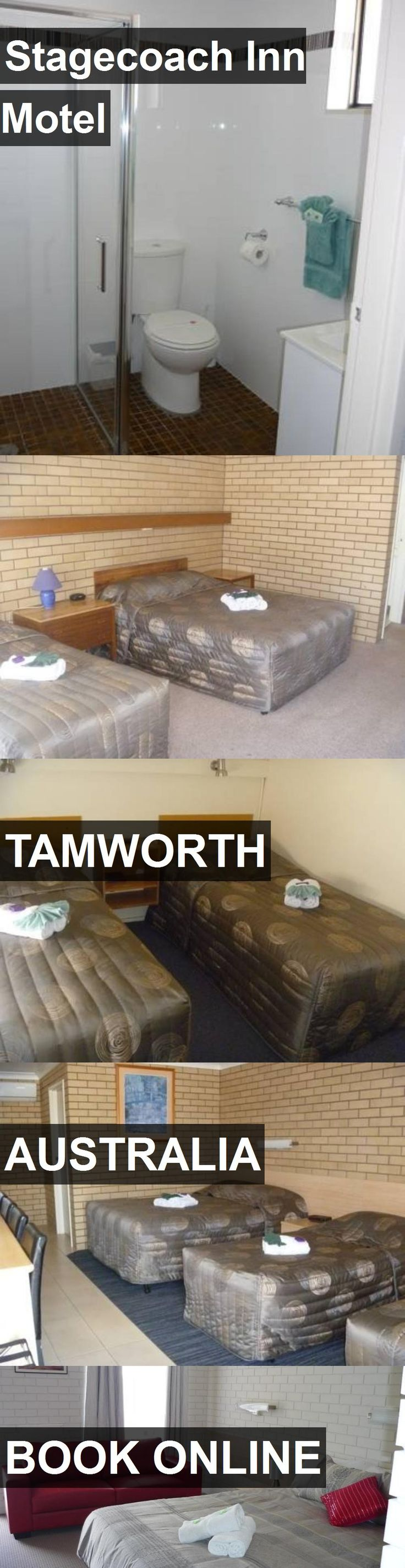 Hotel Stagecoach Inn Motel in Tamworth, Australia. For more information, photos, reviews and best prices please follow the link. #Australia #Tamworth #travel #vacation #hotel