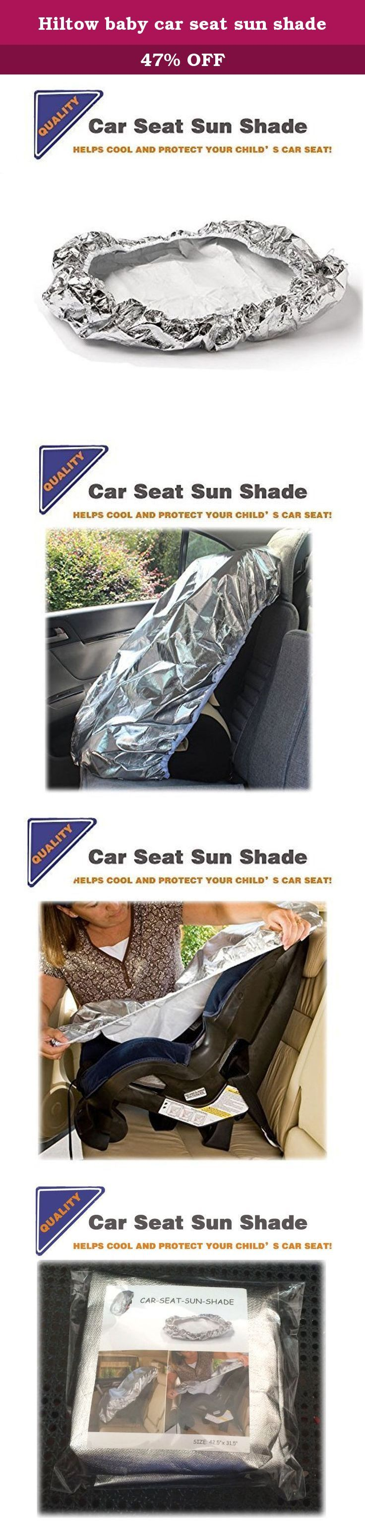 Hiltow baby car seat sun shade. The Hiltow Car Seat Sun Shad can keep your child's car seat an average of 26 degrees F cooler. Note:Findings are based on inside surface temperature of a car on a 95 degree F day. Actual results may vare,tepending on geography,time in the sun ,make of car,size of windows and direction in which car is parked. EASY INSTALLATION: Unwrap the Car Seat Shade and stretch Over the child's car seat , covering the entire seat wish shade. To remove,simply stretch the…