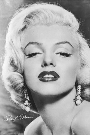 Marilyn Monroe - one of my idols whilst growing up