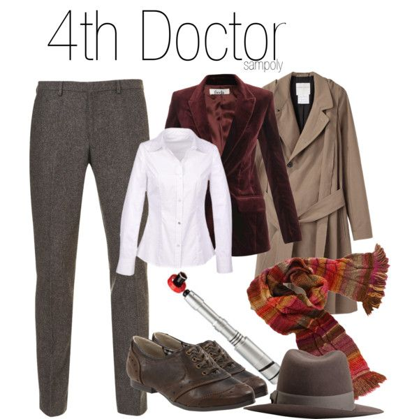 4th Doctor by sampoly on Polyvore