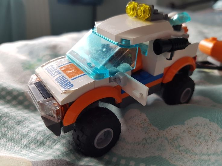 New 4x4 in the garage! Lego Coast Guard
