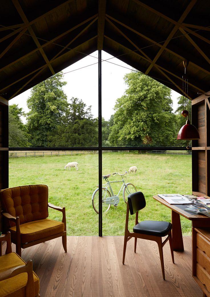 Garden shed / London / Paul Smith & Nathalie de Leval