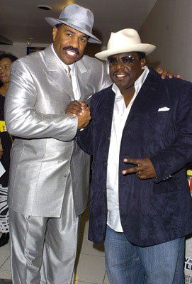 Steve Harvey and Cedric the Entertainer at ...
