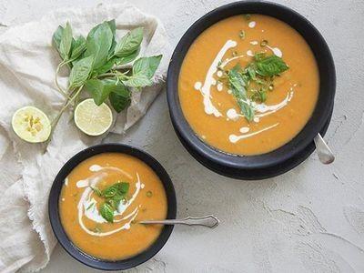 Thai-Style Sweet Potato Soup recipe
