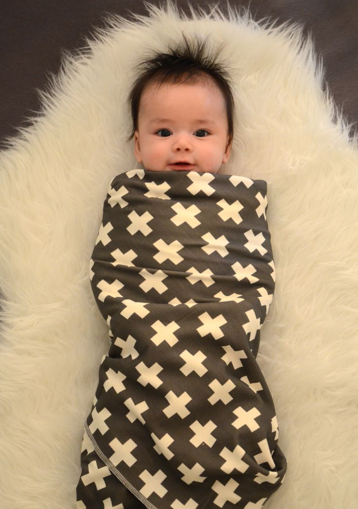 candy kirby designs | organic cotton baby blanket in charcoal plus | Online Store Powered by Storenvy