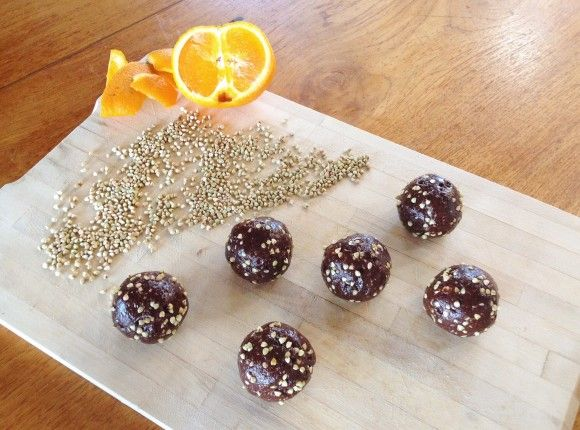 Orange-Buckwheat Balls