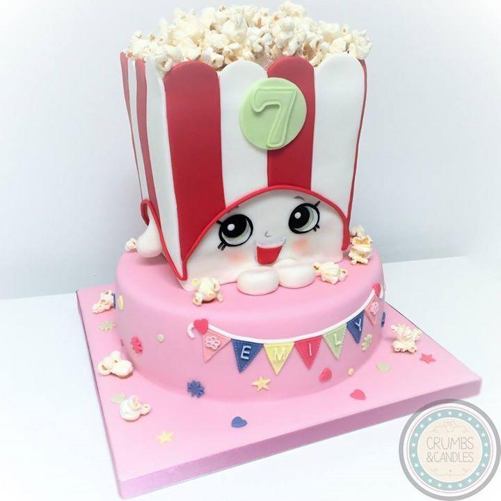 Shopkins! Poppy Popcorn cake.
