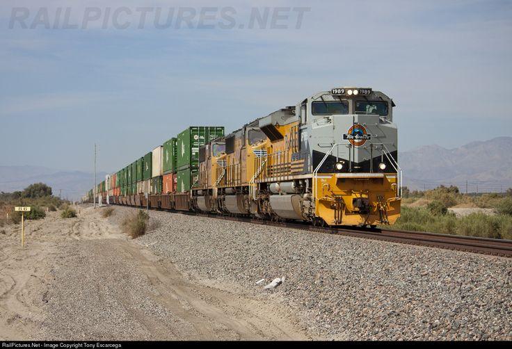 RailPictures.Net Photo: 1989 Union Pacific EMD SD70ACe at Coachella Ca, California by Tony Escarcega