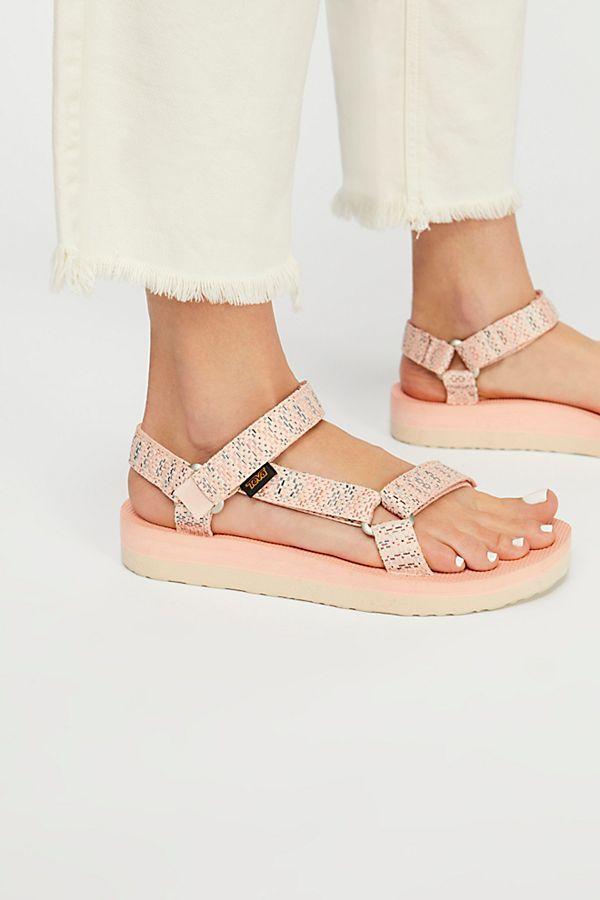 342262bd7bc5 Midform Universal Teva Sandal in Tropical Peach -  60.00