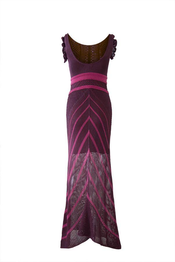 Vestido Tricot Selena Cereja | Galeria Tricot - Galeria Tricot