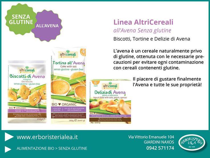 Linea all'Avena Senza Glutine   Prodotta Senza Contaminazione con cereali contenenti Glutine. >http://goo.gl/PCrVkP  #avena #biologico #senzaglutine