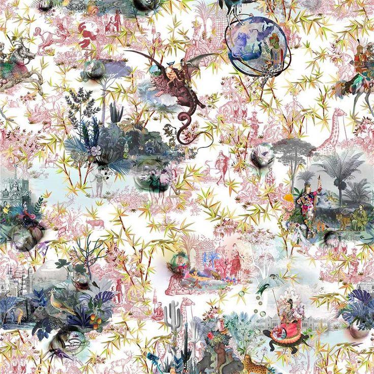 Christian lacroix wallpaper, Eclectic