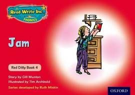 Read Write Inc. Phonics: Red Ditty Book 4 Jam - Paperback - 9780198479154 - Ruth Miskin