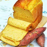 Pão de Batata-Doce e Laranja | Máquina de Pão