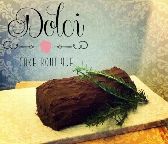Bush de Noel cake #dolcicakeboutique