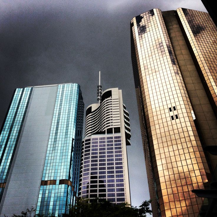Stormy afternoon in Brisbane