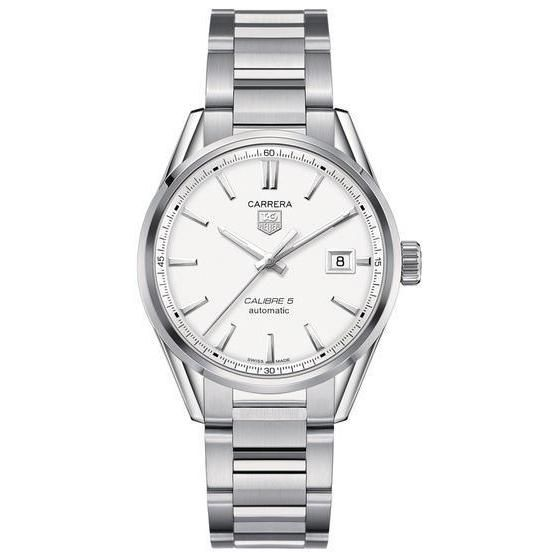 Tag Heuer Carrera Men's Automatic White Dial Watch