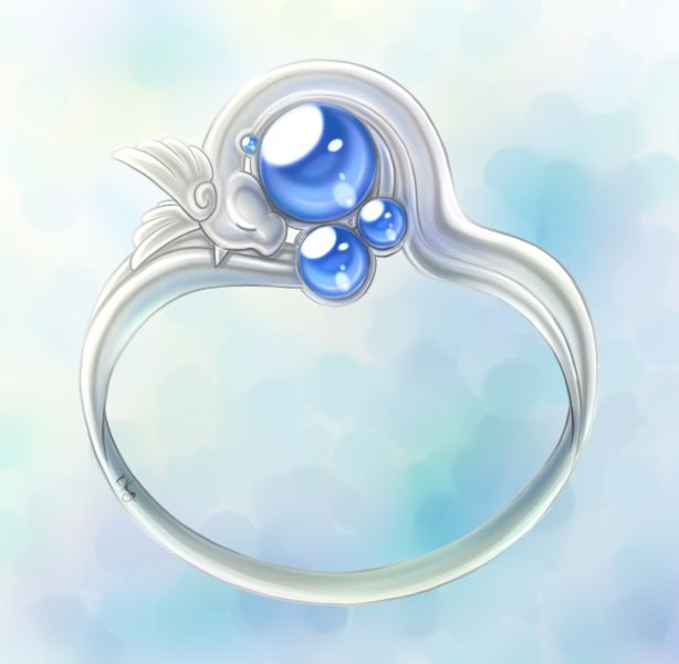 Dragonair ring by ~Trinamon on deviantART Marry him. Anyone who gives you this.